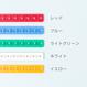 【TB-RP0012】カラーフレーム(10本組)