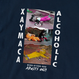 Xaymaca alcoholic club - Bad Drunkers - Long sleeve