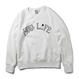 HUG LIFE - Crew sweat shirt (WHITE)