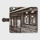 石川県・石坂遊廓《ネコ窓》 iPhoneケース(手帳型)