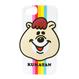クマタン レインボーiPhoneケース 8/7/6S/6対応【KMT-327WH】