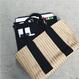 バッグINバッグ付きカゴバッグ【KMT-309BK】※8月中旬お届け予定