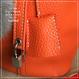 lp.101牛本革ピコタンロックハンドバッグ