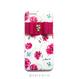 ♡名入れ対応♡各種iPhone バタフライフラワー02×ビジューリボン ハードケース
