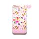 ♡名入れ対応♡各種iPhone ピンクフラワーシャワーB ハードケース
