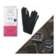 【Piccke ピッケ】patterie 手袋   ブラック×ピンク