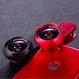 《全商品送料無料》 2in1 スマホ用カメラレンズ F-520  広角レンズ 0.6X マクロレンズ15X プレゼントとしても大人気【1年間のメーカー保証付き】