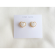 pearl × heart レトロピアス