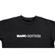 BASIC COTTON LOGO TEE BLACK
