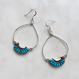 Navajo turquoise pierced
