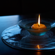 floating moon candle