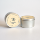 beeswax candle TIN M 8oz