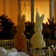 bunny candle box for gift