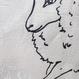 キャンパス トートバッグ Wise Sheep  B