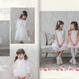 【Souris】リバーシブルボレロ(742/シロ×シロ)  80-120cm