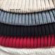 【即納】リブニットセーター