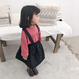 【即納】ふんわり暖か2wayサロペットスカート