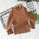 【即納】フリフリハイネックセーター