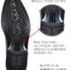 【Jo Marino】高品質 本革 メンズ ビジネス レザーシューズ 革靴 紳士靴 通気性 空気循環 消臭 衝撃吸収 幅広 軽量 7710-BLACK