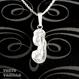 """イニシャル """"J"""" Hawaiian Jewelry Silverネックレス"""