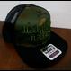 MARUOYA BAITS FLAT VISOR MESH  CAP カモフラ/ブラック