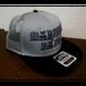 MARUOYA BAITS FLAT VISOR MESH CAP グレー/ブラック