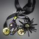 自転車ガールとBlackSun Blacksun   チョーカー hand made beads choker