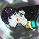 いつかの甘いkiss  | ビーズブローチ hand made beads brooch