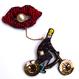 & cycle(アンドサイクル)  | ビーズブローチ hand made beads brooch