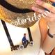 自転車ガールと犬 with my dog   チョーカー hand made beads choker