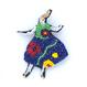 カントリー・ガール | ビーズブローチ Hand made beads brooch.