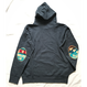 "PENDLETON×MB7r HOOD SWEAT NAVY ""BIG THUNDER SCARLET"""