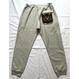 "PENDLETON×MB7r SWEAT PANTS ASH GRAY ""OVER ALL BEIGE"""