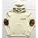 "PENDLETON×MB7r HOOD SWEAT OFF WHITE ""OVER ALL BEIGE"""