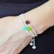 Grass Beads Bracelet (Bordeaux)