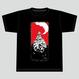 【数量限定再販:6月末発送】メダロットTシャツ_メタビー01_ブラック