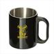 【3月発送】スチールマグカップ_メタビー_ブラック -MDSTR003-
