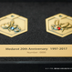 【完全限定受注生産:6月下旬発送】20周年記念 シリアルナンバープレート入り 1/1スケール カブト・クワガタ メダルセット