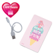 ViVi × Carebears モバイルチャージャー4000mAh ピンク