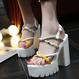 B114 Russian Gladiator Sandals 2color