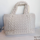 ginger and sprout(ジンジャーアンドスプラウト)/ ARAN KNIT FRINGE TOTE