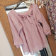 ginger and sprout(ジンジャーアンドスプラウト)/ BACK RIBBON BLOUSE