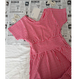 last 1【fish&kids】おとな red VICHY dress