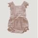 【Jamie kay】Lace Indie Playsuit - Rose Smoke  3y