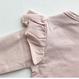last 1【juliedausell】frill body suits long sleeve