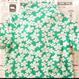 【fish&kids】こども GREEN FLOWER POLO
