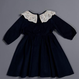 Charlotte Dress - Navy Blue