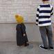 【fish&kids】GEOMETRIC PRINT dress