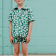 【fish&kids】こども GREEN FROWER SHORT