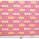 ハワイアンキルト柄ピンク系